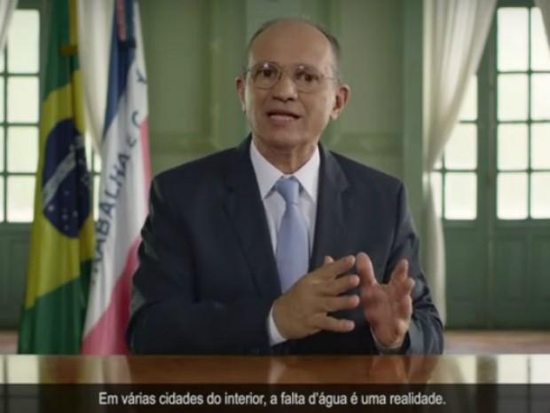 Governador do ES pede economia de água e faz apelo à população