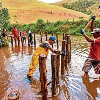 Técnica inglesa aumentou o número de peixes e diminuiu o volume de sedimentos, em Santa Leopoldina