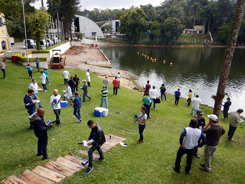 ANA promove evento para comparação de laboratórios que analisam qualidade de água