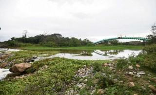 Queda na vazão do Rio Jucu vira caso de polícia