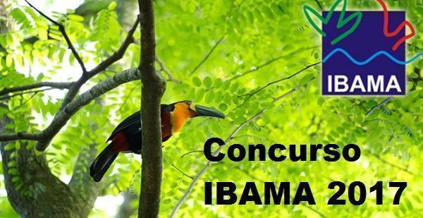 Concurso Ibama 2017
