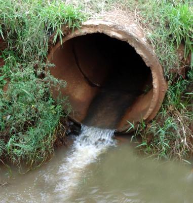 Estado dobra número de residências sem esgotamento sanitário