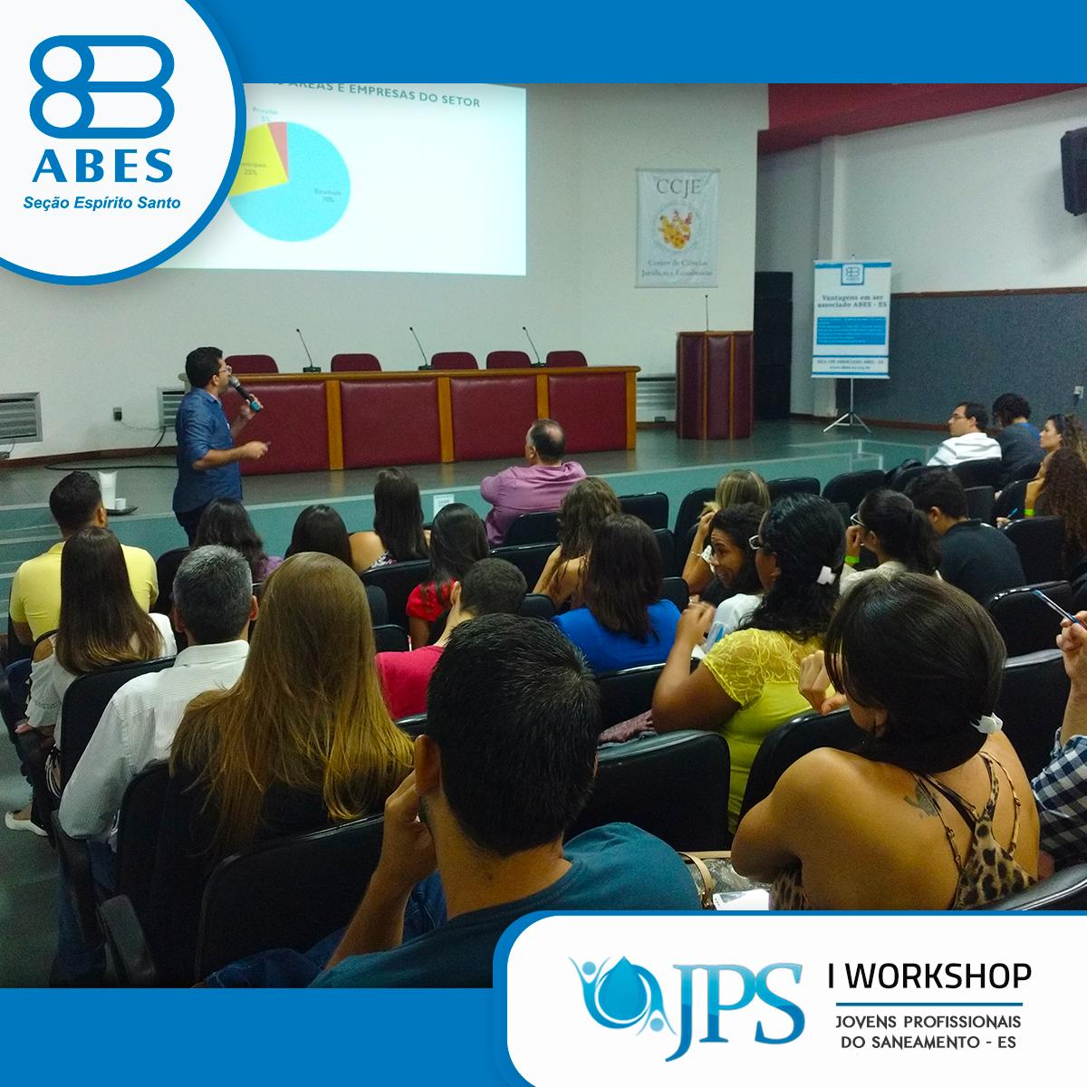ABES realiza Workshop para Jovens Profissionais na Área do Saneamento