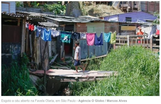 Obras de saneamento básico estão abandonadas em todo o país