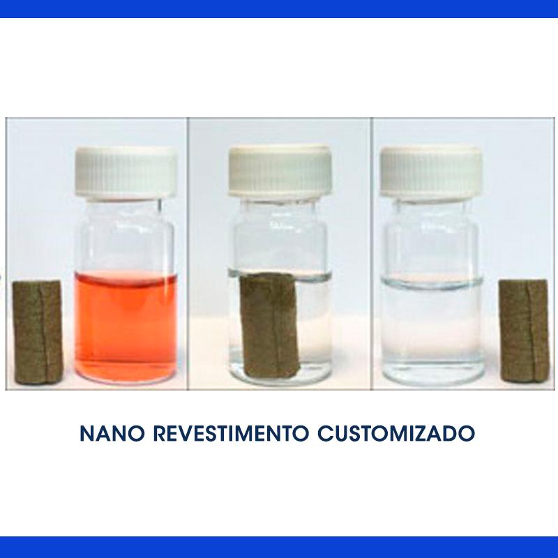 Remover poluentes dos efluentes com um nano revestimento customizado