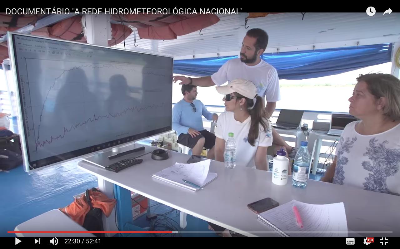 Documentário explica a Rede Hidrometeorológica Nacional