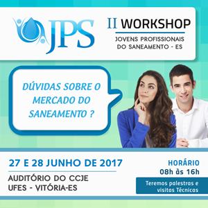 II Workshop – Jovem Profissional do Saneamento do Espírito Santo
