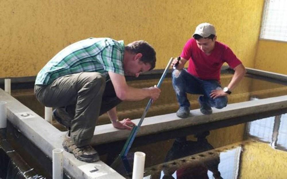 A tecnologia de purificação foi criada pelo engenheiro ambiental Monroe Weber-Shirk